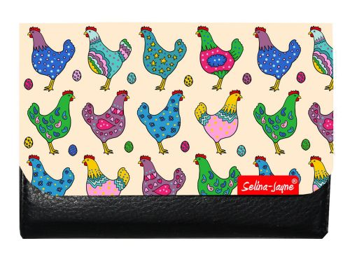Selina-Jayne Chickens Limited Edition Designer Small Purse